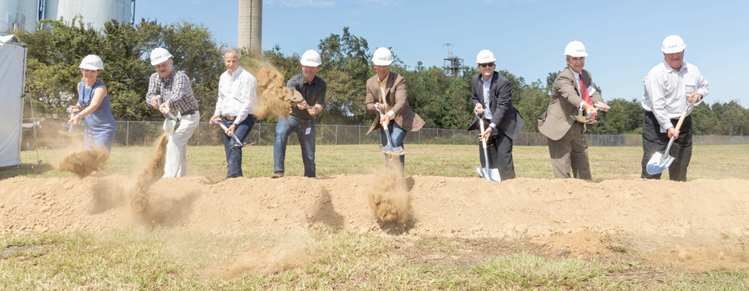 St. Mary Clean Energy Center groundbreaking
